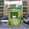 2019 inflatable lemonade booth,inflatable cup,booth inflatable for sale