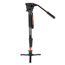 Coman camera stand <span class=keywords><strong>aluminium</strong></span> dslr camera <span class=keywords><strong>monopod</strong></span> met vloeistof hoofd