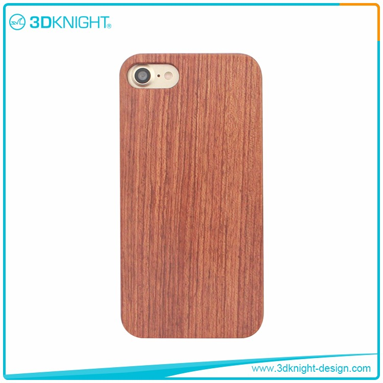Anti-Scratch cell covers wood,custom real rose wood cover for iPhone 7