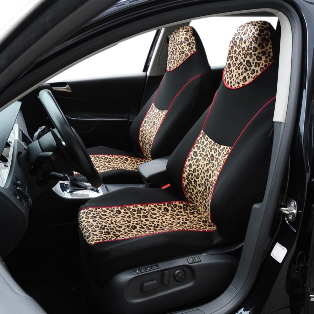 luipaard print designer auto bekleding stof fluwelen bekleding