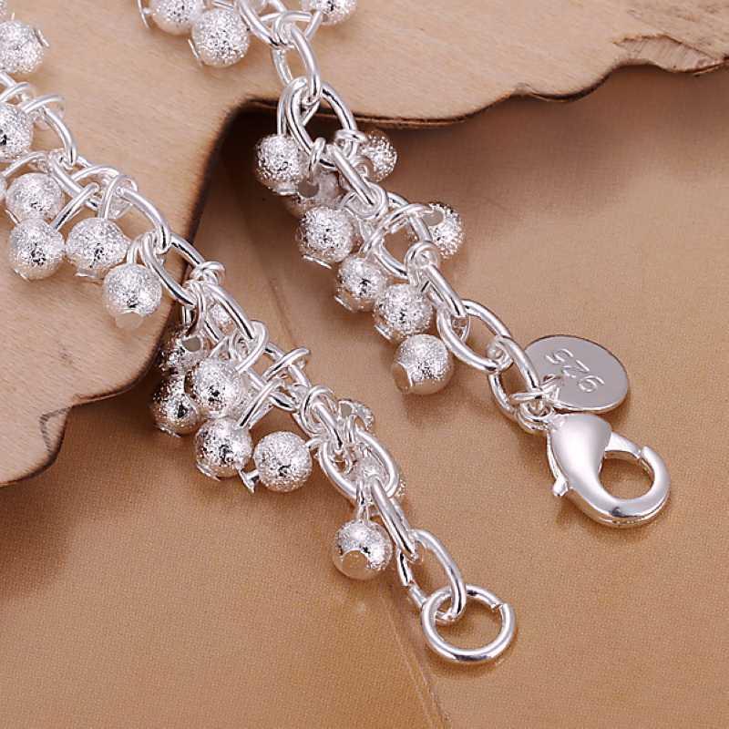 925 чистое серебро ювелирные изделия браслет модное виноград браслет и SMTH232