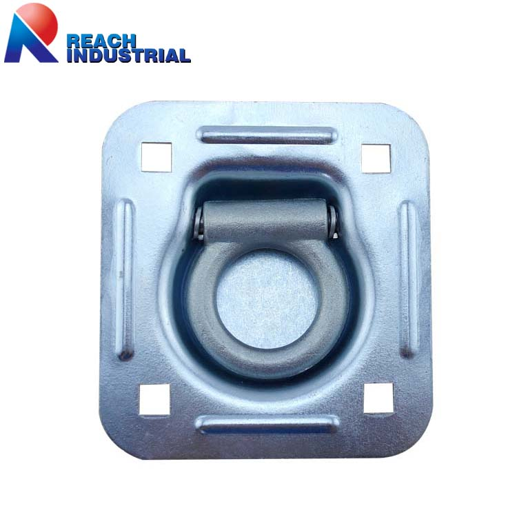 6000 Lbs Truck Trailer Recessed Floor Anchor with Lashing D Ring