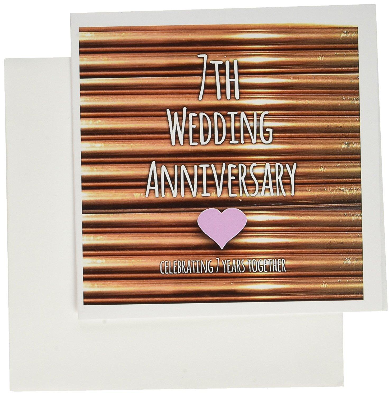 Buy 3drose Db1544361 7th Wedding Anniversary Gift Copper