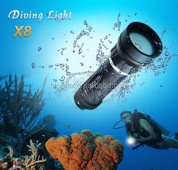 Chinese Import Sites Cree Xm-l2 U2 Scuba Underwater Led Lights ...