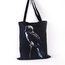 Full color custom printed tote canvas grocery bags