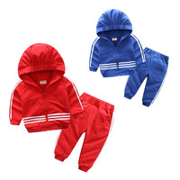 Autumn Baby Boys Girls Sport Suit 2017 Children Boys Clothing Set Toddler New Kids Clothes Tracksuit Set