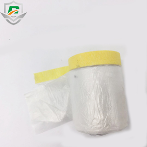 High quality Crepe paper combine 900 mm HDPE film for paint masker prepared masking film