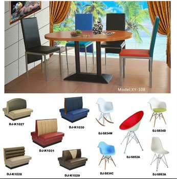 Wood Or Metal Commercial Restaurant Tables And Chairs(INEO Is Professional  On Commercial Kitchen Project Photo