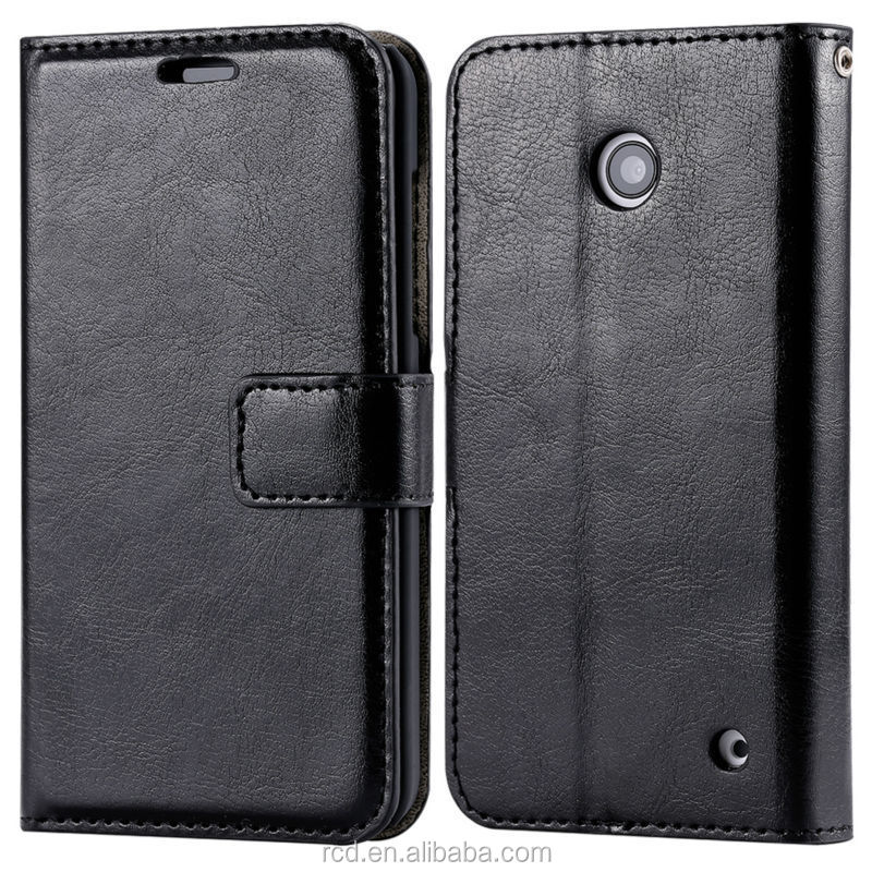 Magnetic Clip Case For Nokia N630, Stand Mobile Phone Cover For Nokia N630, Leather Case For Nokia Lumia N630