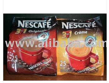 Indonesia NESC0001 3in1 (25pcs x 12 polybags) Nescafe Coffee
