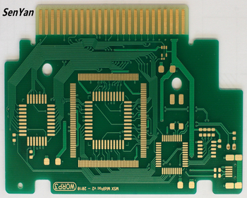 Gold Finger Electronic Printed Circuit Board With Au 20u Hard Gold Plating  - Buy Printed Circuit Board,Gold Plating Pcb,Gold Finger Pcb Product on