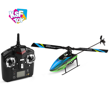 single blade 2.4Ghz flying model toy rc helicopter 4 channel with 6 gyro