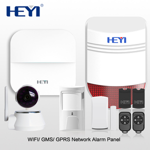 2018 Alibaba Best Selling Wireless Burglar GSM Wifi Alarm System Support Multi-language