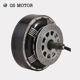 QSMOTOR 3000Watt V3 273 super power dc brushless electric car in wheel hub motor