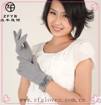 Fashion Girl new style Full hand wool touch screen <strong>gloves</strong> for patent