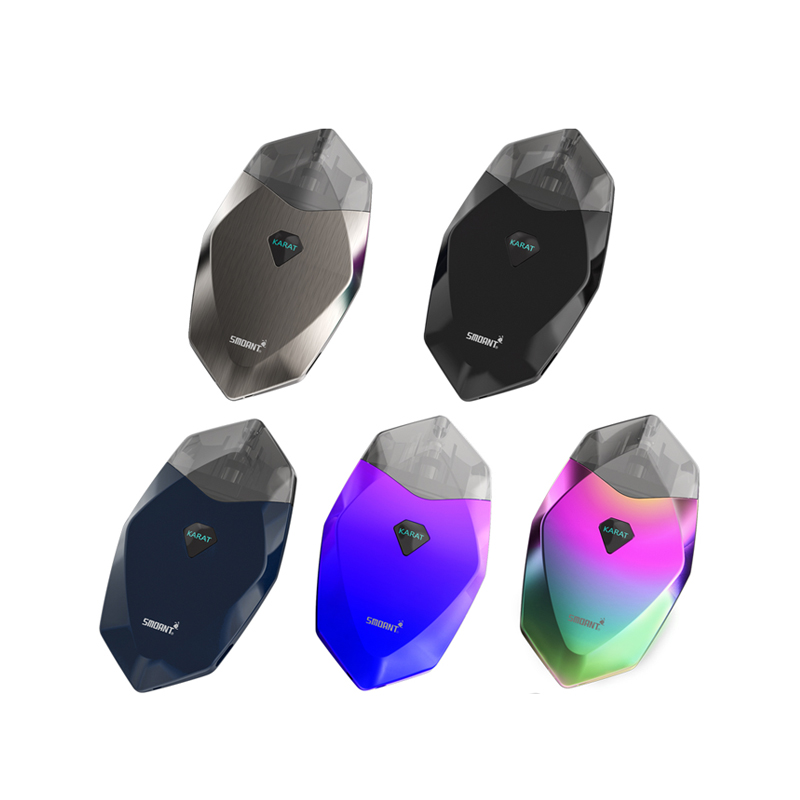 2019 china hot smoant Karat pod system Pods cartridge vape pen ecig Innovative Quartz coil Pod mod 2ml