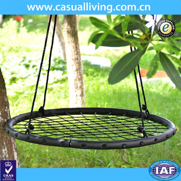 enfants web de balan oire hamac suspendu corde chaise porche swing aire de jeux arbre. Black Bedroom Furniture Sets. Home Design Ideas