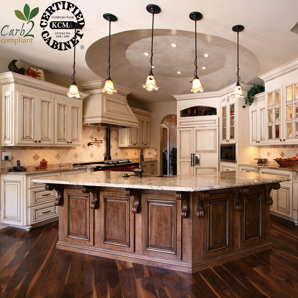 High End Knock Down Solid Wood Modern