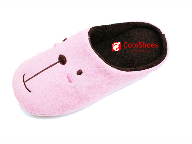 Coface Indoor Slipper with Outsole material for embossed textile