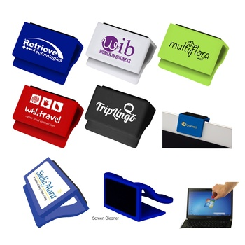 Promotion gift cheap mini personal pocket computer tablet digital OEM brand logo laptop webcam cover with pad PC screen cleaner