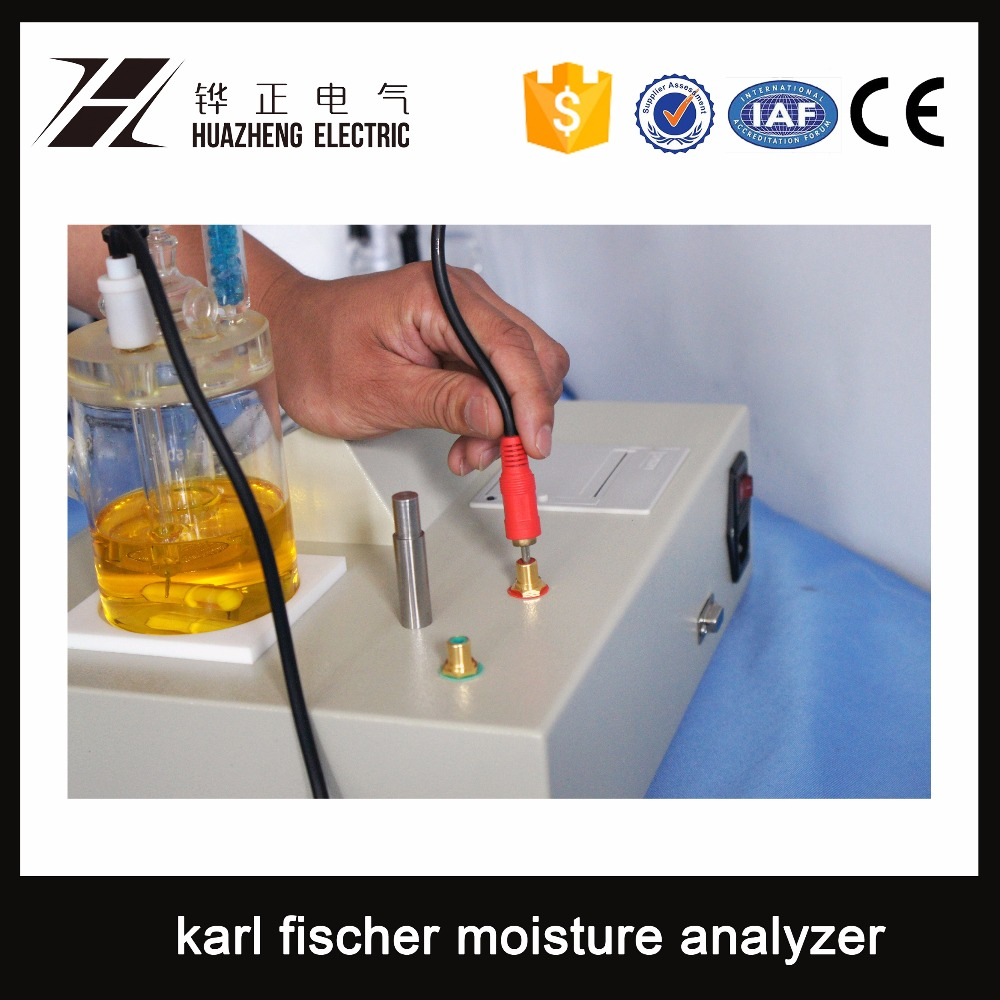 HZWS-2 Auto water determination by karl fischer