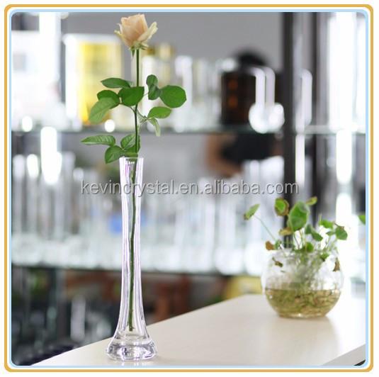 Claro Jarrones De Vidrio Para Los Arreglos Florales Slim Transparente De Vidrio Florero Decoración Modernaflorero Decoración Idea Buy Claro