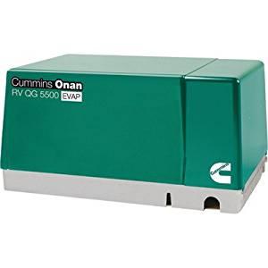 Cummins Onan Quiet Series Gasoline RV Generator - 5.5 kW, CARB and EPA Compliant, Model# 5.5HGJAB-7103