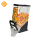 Plastic Bulk Gravity Dry Food Cereal Dispenser for Candy