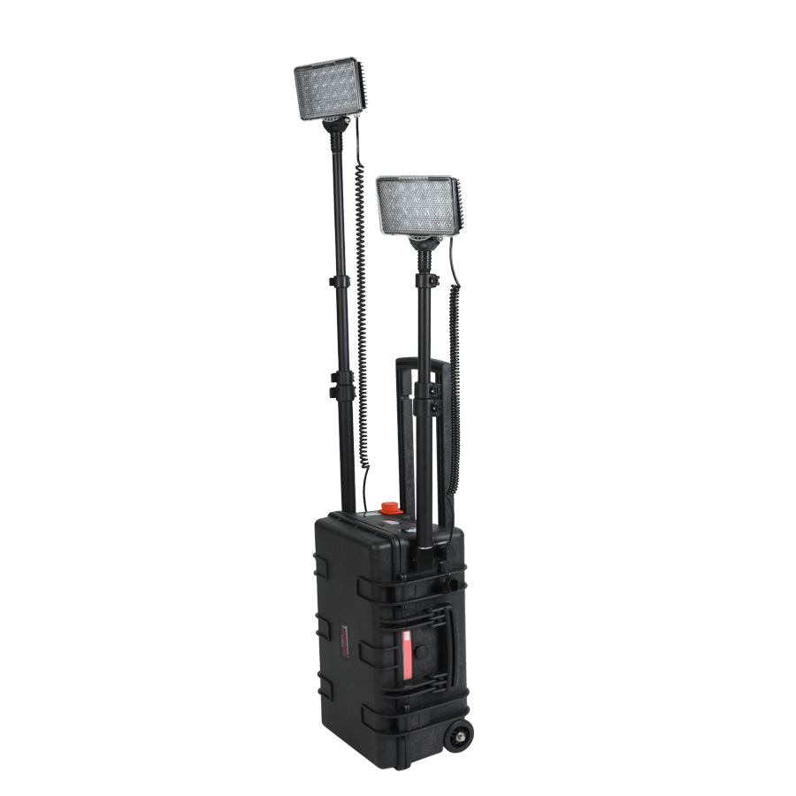 Battery Powered Portable Led Work Lights 144w Temporary
