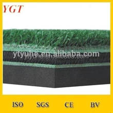 driving range golf mat turf mats golf putting mat/Grass Layer Nylon Knitted Crimp Golf Mat/Golf Synthetic Grass Artificial Gras