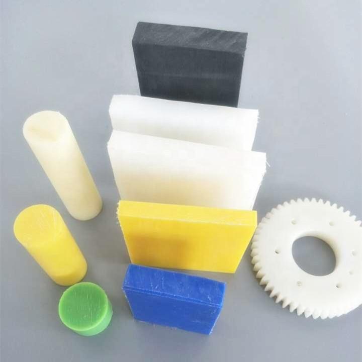 Plastic Round Rod,POM Rod,5mm Dia White Engineering Plastic Round Bar