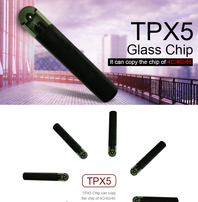DY120712 Glass Chip JMA TPX5 Cloning Chip (Replaces TPX1, TPX2, TPX3 & TPX4)