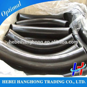 Trade Assurance Manufacturer carbon steel butt welded 3d-10d pipe fitting hot formed bends