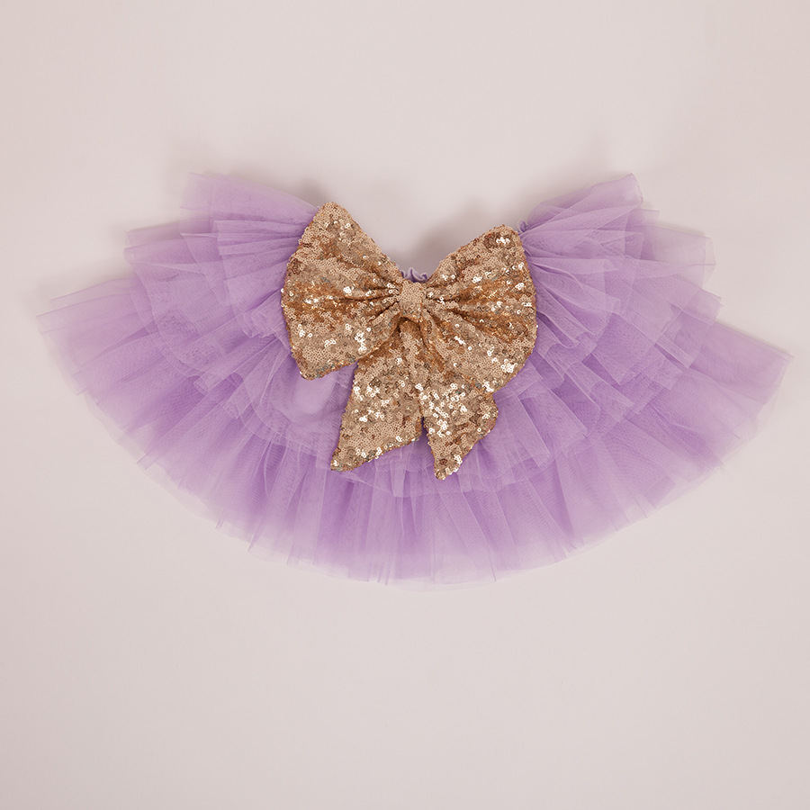 whosale children boutique clothing girl big bownot sequined tutu skirts kids tulle lace skirts