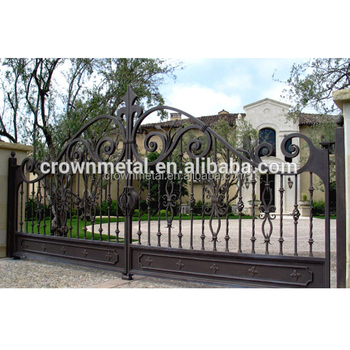 Garden Arch Wrought Iron Gate And Fence Luxury Decorative Gates Beautiful