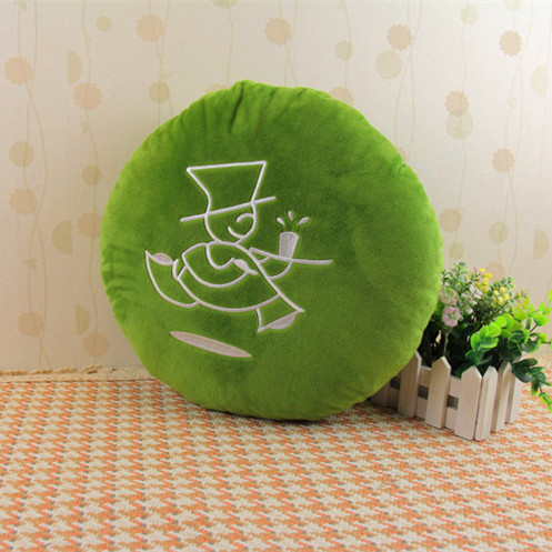 China Chain of tea shops Customize 30cm Pillow plush Green Tea design figure character
