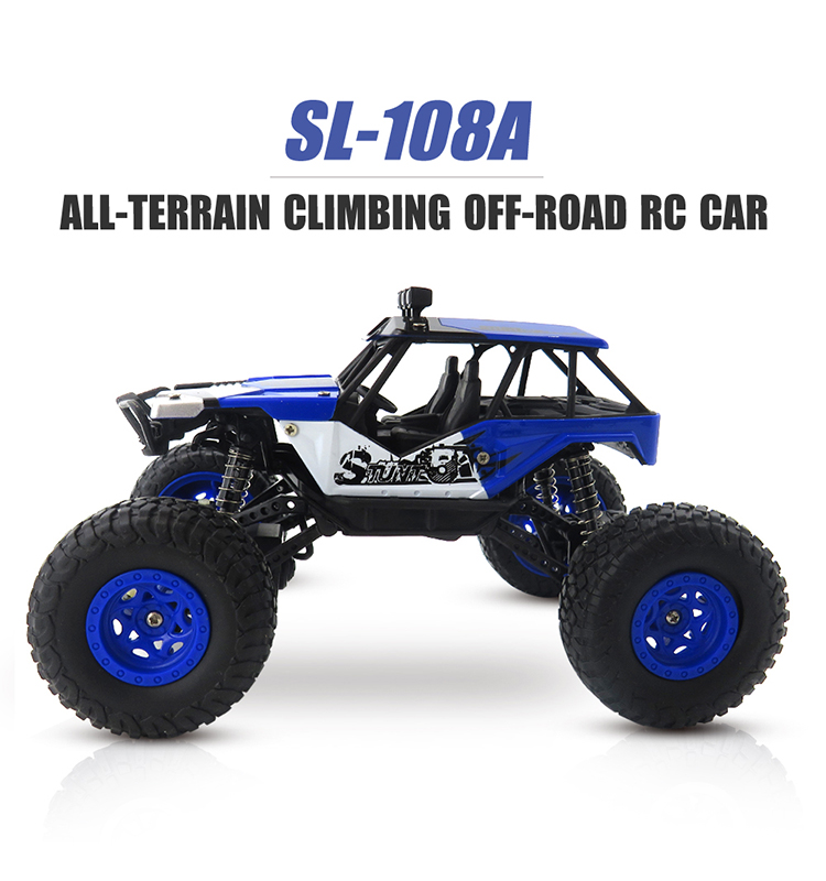1.SL-108A_Blue_27MHz_Mini_4WD_Off-Road_Climbing_Remote_Control_Cars_Toy