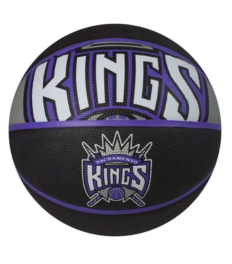 5215b98df81 Get Quotations · NEW Spalding NBA Courtside Team Outdoor Rubber Basketball  Sacramento Kings