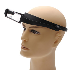 High Quality 1.6x 2.0x 2.5x 3.5x Head Headband Replaceable Lens Loupe Magnifier Magnify Glass