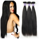 7A Grade Indian Straight Virgin Hair 3 Pcs/lot Virgin Hair Bundle Deals Unprocessed Natural Black Indian Virgin Hair Straight
