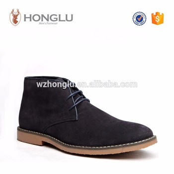 Odm Lace Up Men Boots Luxury Shoes Men Suede Leather Desert Boots ...
