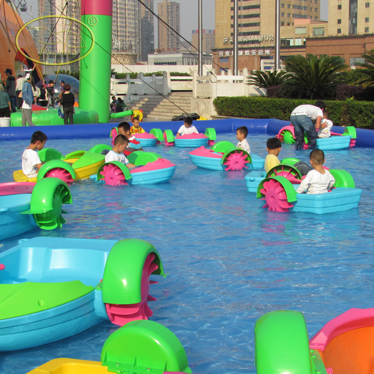 Shallow water or inflatable pool use used paddle boats for sale to agent