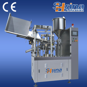 Shanghai Sina skin ointment Filling and Sealing Machine
