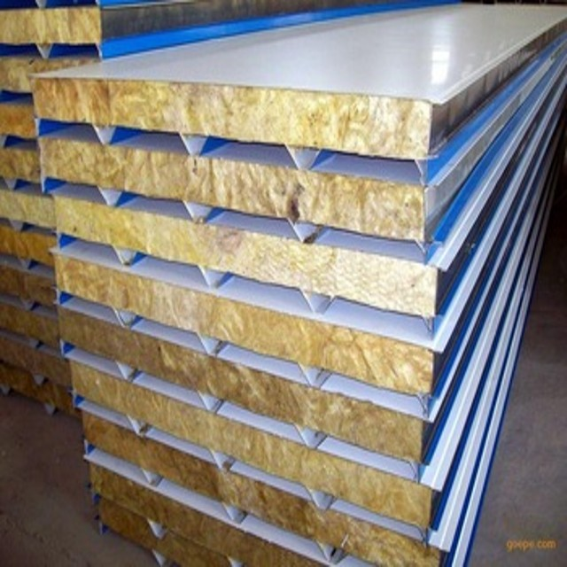 industrial workshop building used glass wool Insulation Sandwich Panel partition wall panel