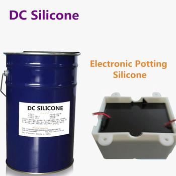 Best selling items cheap potting compound black potting compound silicone rubber with great price