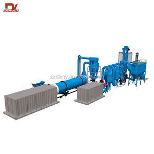 Automatic Adjusted Hot Air Maize Starch Residue Rotary Dryer Machine