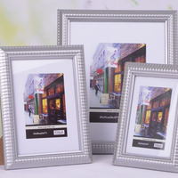 Baroque Sixy Photo/Picture Silver 4x6 5x7 8x10 Picture Frames