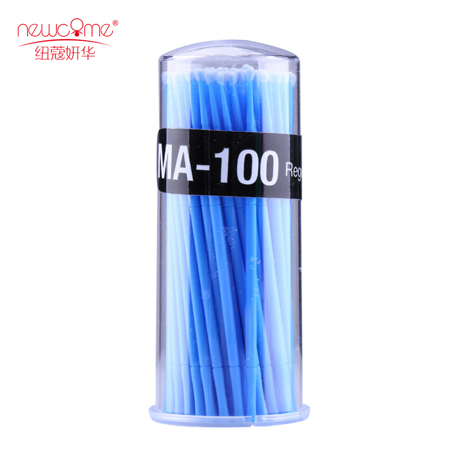 Best quality brush applicator colorful microbrush for eyelashes extensions, Can do any clors according to your requirements