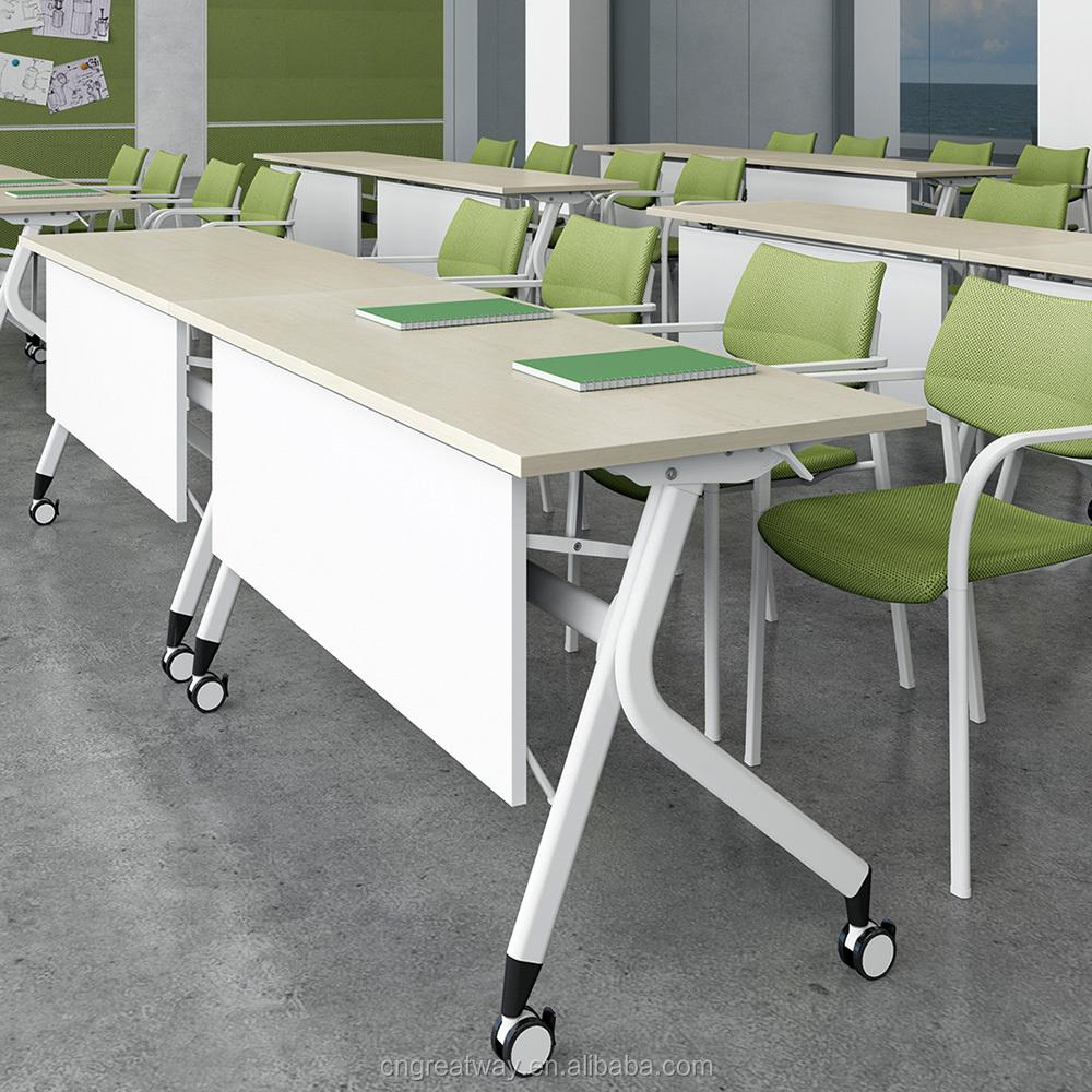 Nuevo dise o de la venta caliente conveniente estudio mesa for Mesa plegable trabajo
