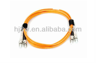 ST-ST Duplex OM1 LSZH 3.00mm 1M fibra optica